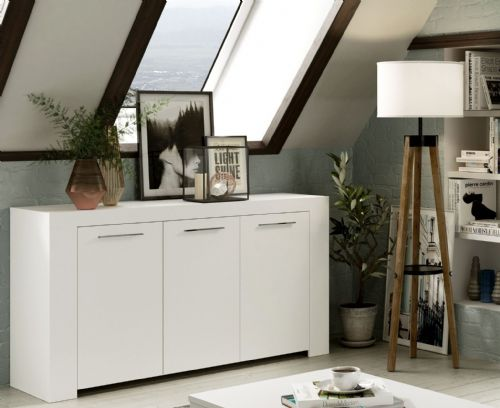 Curro Artic White Sideboard - 2558